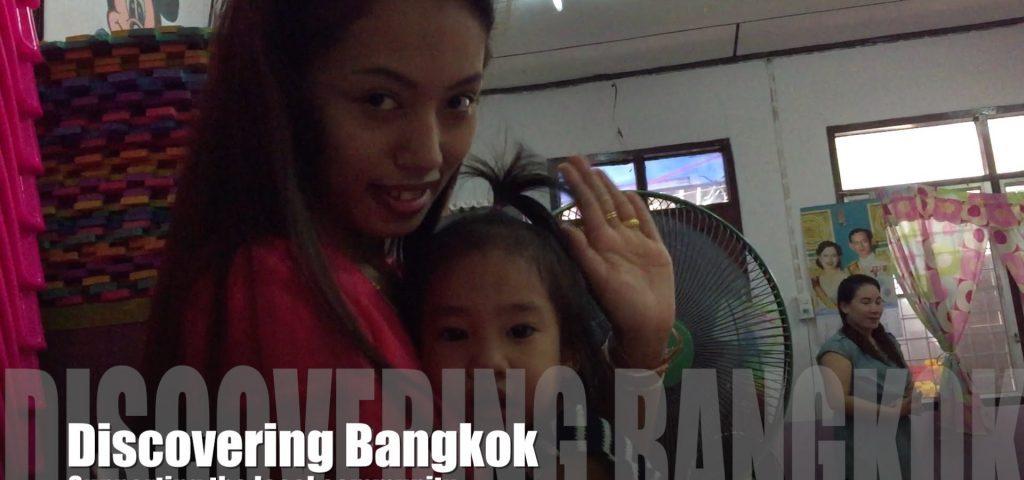 Kindergarden school in Bangkok community