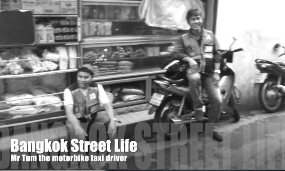 Mr Tum the motorbike taxi driver