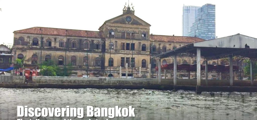 The old customs house in Bangkok
