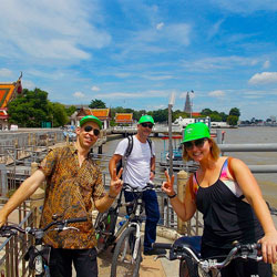 Enjoy-the-cool-breeze-along-the-river-cycle-path-Siam-Boran-Follow-Me