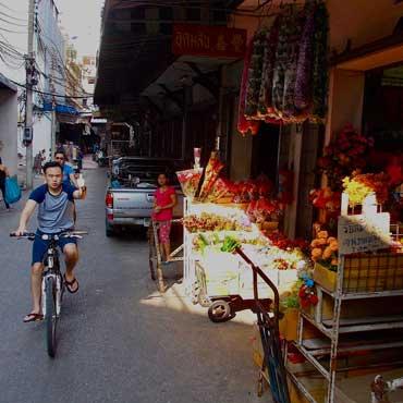 Bangkok city tour by bicycle
