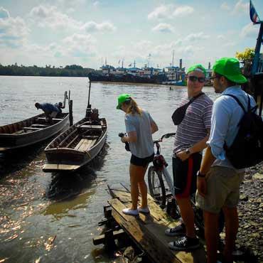 Bangkok jungle tour with Follow Me bicycle tours