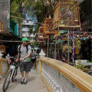 Bicycle and food combo tour with Follow Me in Bangkok