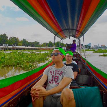 Bangkok canal tour with Follow Me