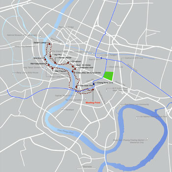 Siam Ratree Route Map